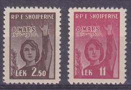 Albania 1960 Space 2v  ** Mnh (14590) - Space