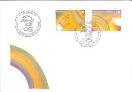 Suisse FDC 1999  * 125 Ans UPU *  Oblitéré Du 1er Jour D´émission - FDC