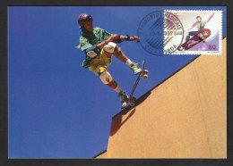 Portugal Skateboard Sports Extrêmes Carte Maximum 1997 Skate Extreme Sports Maxicard - Skateboard