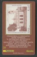 ITALIA TESSERA FILATELICA 2002 - PATRIMONIO ARTISTICO S. MARIA DELLE GRAZIE SPEZZANO ALBANESE ( COSENZA ) - 394 - 6. 1946-.. Republik