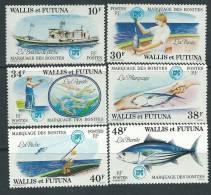 Wallis Et Futuna N° 226/31  XX   Marquages Des Bonites  , Sans Charnière TB - Unclassified