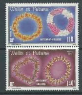 Wallis Et Futuna N° 241/42  XX   Artisanat. Colliers , Sans Charnière TB - Unclassified