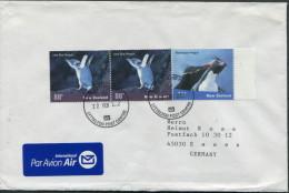 2002 New Zealand Ross Lyttelton Polar Antarctic Penguin Cover - Antarctic Wildlife