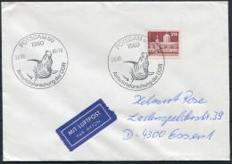 1989 Germany Deutsche Potsdam DDR Antarctic Antarktis Walrus Brief - Antarctic Wildlife