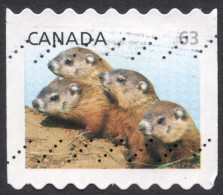 Canada,  63 C, 2013, Used (3) - Usati