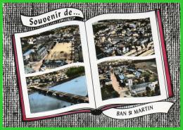 SOUVENIR De BAN SAINT MARTIN (Moselle) Multi - Vues (recto Verso) - France