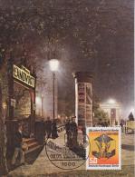 Berlin 1984 100 Jahre Strom Fur Berlin 1v MAXIMUM CARD (14599) - [5] Berlijn