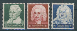 Deutsches Reich Michel No. 573 - 575 ** postfrisch