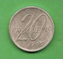 K317 Brasil 20 Cruzeiros 1965 - Brasile