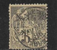 NOUVELLE CALEDONIE  - YVERT N°10 OBLITERE - COTE = 35 EUROS - New Caledonia