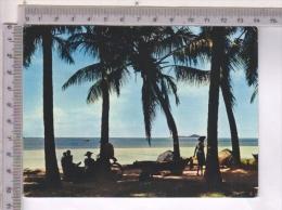 AB47942 SEYCHELLES ISLANDS PRASLIN SPIAGGE INDIGENI COSTUMI TIPICI - Seychellen