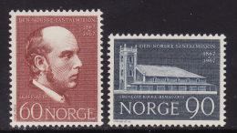Norway #508-09 F-VF Mint NH ** Santal Mission - Norway