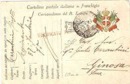 P.M.1915/1923-POSTA MILITARE 2a DIVISIONE - 1900-44 Vittorio Emanuele III
