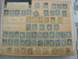 FRANCE collection dans album avec un grand nombre de Napol�on C�res et autres anciens timbres
