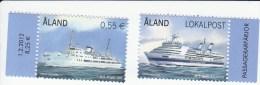 Aland Mi 353/354  ** Cat 2.40 Euro - Aland