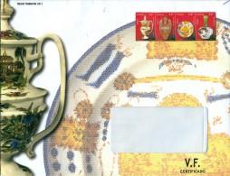 España - 2011 - Sobre Servicio Filatélico Correos - Tercer Trimestre 2011 - Imprimido Sellos ED 4660/4663 - 1931-Hoy: 2ª República - ... Juan Carlos I