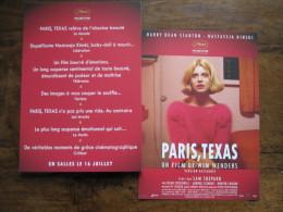 Carte 21x14 Cm : Paris, Texas. Wim Wenders. 2014 - Cinemania