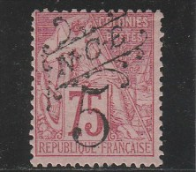 NOUVELLE CALEDONIE  - YVERT N°37 * - CHARNIERE LEGERE - COTE = 30 EUROS - Unused Stamps