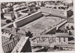 ALBERTVILLE,stade,combe De Savoie,ville Olympique,vue Aérienne Cotée Par Bertrand,vue Lycée National,et Les Joueurs,73 - Albertville