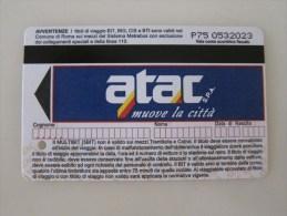 Roma Metrebus Card - Busse