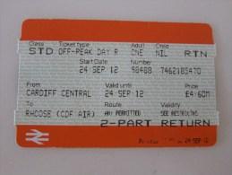 London Round Trip Card - Europe