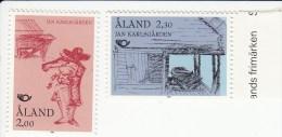 Aland Mi 70/71** Cat 2.00 Euro - Aland
