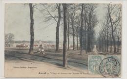 ANNET SUR MARNE  Village Et Avenue Du Château De Louche Animée - Autres Communes