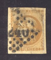 CLX 2278 :  YV  43Aa  (o) - 1870 Emission De Bordeaux