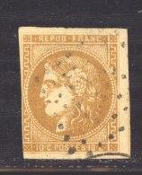CLX 2285 :  YV  43B  (o) - 1870 Bordeaux Printing