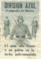 348-*SPAIN CIVIL WAR*WWII*10 UNCUT COUPONS*GUERRA CIVIL ESPA�OLA*SANTA EULALIA DEL RIO, IBIZA*1943*BLUE DIVISION*