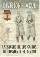 349-*SPAIN CIVIL WAR*WWII*10 UNCUT COUPONS*GUERRA CIVIL ESPA�OLA*VERA, ALMERIA *BLUE DIVISION*