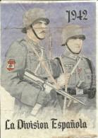 350-*SPAIN CIVIL WAR*WWII*10 UNCUT COUPONS*GUERRA CIVIL ESPA�OLA* SARI�ENA, HUESCA*BLUE DIVISION 1942*