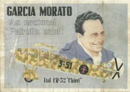 351-*SPAIN CIVIL WAR*WWII*10 UNCUT COUPONS*GUERRA CIVIL ESPA�OLA* ORDES, CORU�A* BLUE DIVISION*GARCIA MORATO*