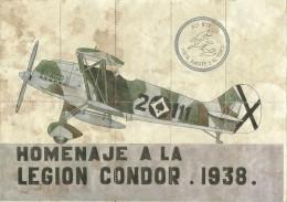 356-*SPAIN CIVIL WAR*WWII*10 UNCUT COUPONS*GUERRA CIVIL ESPA�OLA*PE�AFIEL, VALLADOLID*LEGION CONDOR 1938*