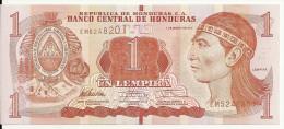 HONDURAS  1 LEMPIRA 2012 UNC P 89 - Honduras