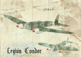 362-*SPAIN CIVIL WAR*WWII*10 UNCUT COUPONS*GUERRA CIVIL ESPA�OLA*VIGO, PONTEVEDRA 1942* LEGION CONDOR*