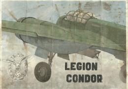 363-*SPAIN CIVIL WAR*WWII*10 UNCUT COUPONS*GUERRA CIVIL ESPA�OLA*MIGUELTURRA, CIUDAD REAL 1940* LEGION CONDOR*
