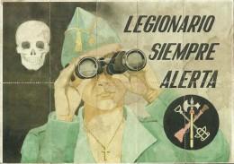 371-*SPAIN CIVIL WAR*10 UNCUT COUPONS*GUERRA CIVIL ESPA�OLA*NERVA, HUELVA 1941*LEGION*