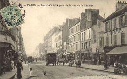 CPA Paris 20e (Dep. 75) Rue D'Avron (58650) - France