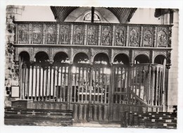 Cpsm 10 - Villemaur-sur-Vanne (Aube) - Eglise Notre Dame Le Jubé, Côté Nef, Passion Du Christ - France