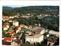 CP - BAINS LES BAINS (88) HOTEL DE LA PROMENADE ET RESIDENCE  VUE GENERALE AERIENNE - Bains Les Bains