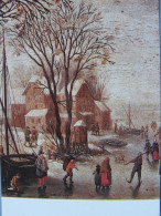 J Bruegel Skates On The Lake  Detail Museum Poldi Pezzoil Mailand - Paintings