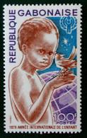 ANNEE INTERNATIONALE DE L´ENFANT 1979 - NEUF ** - YT 421 - MI 706 - Gabun (1960-...)