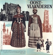 Brochure Dépliant Tourisme Toerisme Oost Vlaanderen - Illustr. Herman Verbaere - Vecchi Documenti