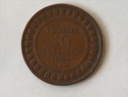 TUNISIE 10 CENTIMES 1904 - Tunisie