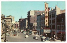Providence, Weybosset Steet (Crown Hotel, Loew´s, Singer, Cars) - Providence