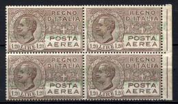 Italia Regno 1928 !,20£ Con Sopr. Speciale NOBILE **/MNH VF/F - 1900-44 Vittorio Emanuele III