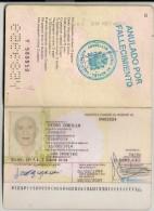 COMUNIDAD EUROPEA - ESPAÑA - SPAIN  PASSPORT - PASSEPORT - PASAPORTE - Historische Dokumente