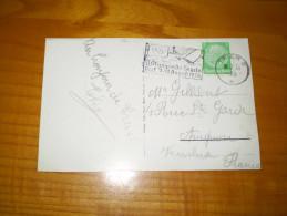 XI Jeux Olympiques D'été De Berlin 1936 : épreuve De Voile à Kiel . , Flamme De Trier 2 . Marché De Trier . Hindenburg 5 - Ansichtskarten