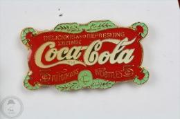 Coca Cola Fountains In Bottles - Vintage Advertising Pin Badge #PLS - Coca-Cola